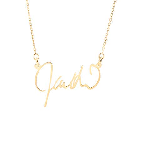 Name Plate Necklace | Custom Nameplate Necklaces