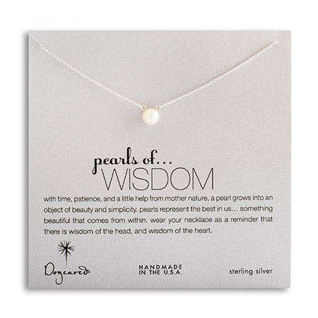 Dogeared Pearls of Wisdom Necklace