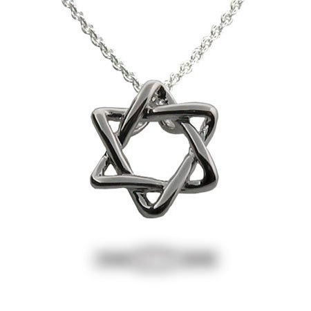 Designer Style Star of David Necklace | Eve's Addiction®
