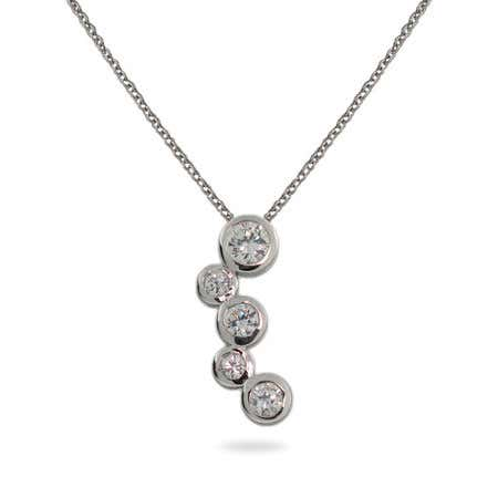 Sterling Silver Bubbles Pendant | Eve's Addiction®