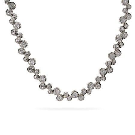Designer Style CZ Bubbles Necklace | Eve's Addiction®