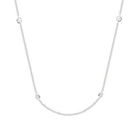 Sparkling CZ Studded Chain