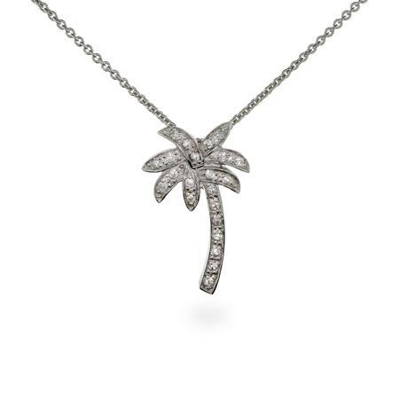 Palm Tree Necklace | Palm Tree Pendant | Eve's Addiction®