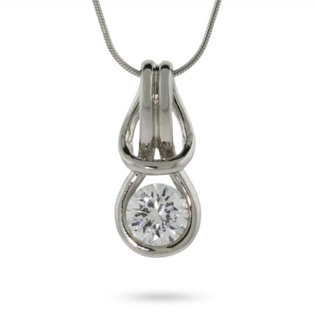 Sterling Silver Love Knot Pendant