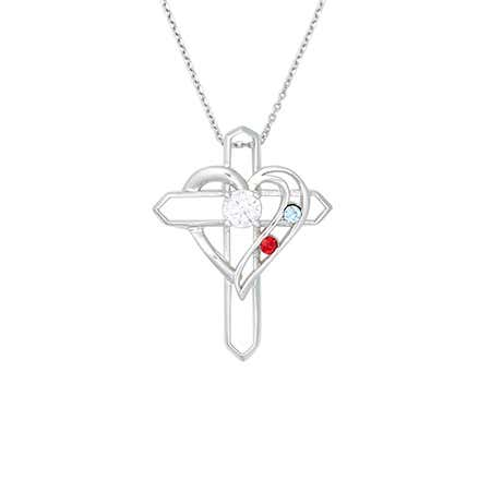 fa7b01f16b34c Custom Heart Necklace | Personalized Heart Necklace