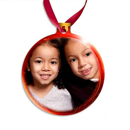 Holiday Custom Photo Ornament