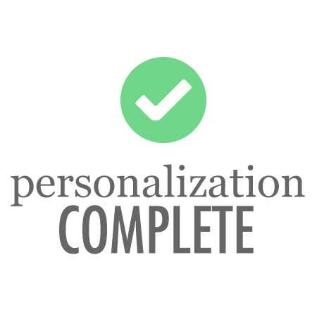 $12 Personalization Free