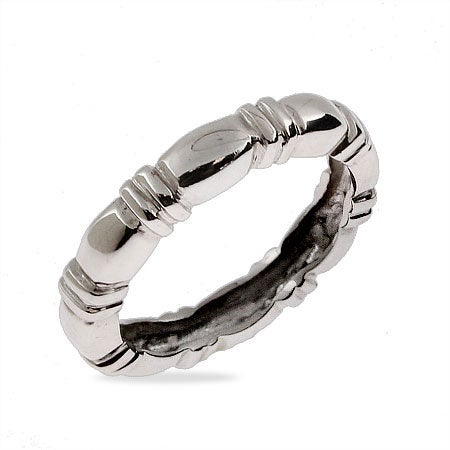 Thin Sterling Silver Stackable Ring | Eve's Addiction®