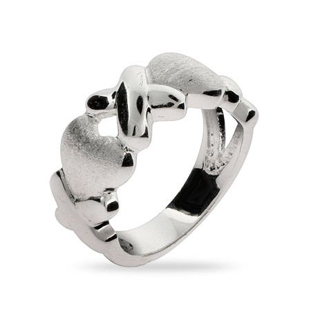 Hugs and Kisses XOXO Ring | Eve's Addiction