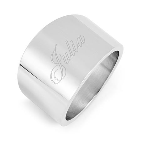 Engravable Stainless Steel Cigar Band | Eve's Addiction