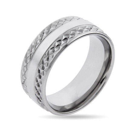 Titan Ring in Stainless Steel for Men | Eve's Addiction®