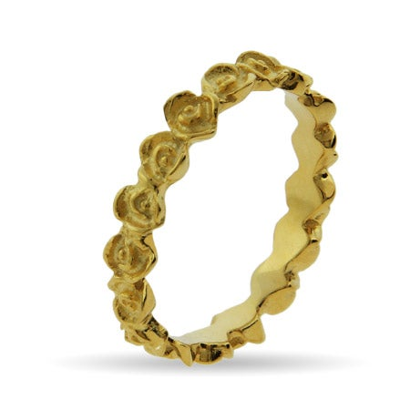 I Pick You Flower Ring in Gold Vermeil | Eve's Addiction®