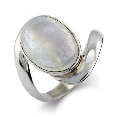Vampire Inspired Sterling Silver Moonstone Ring | Eve's Addiction®
