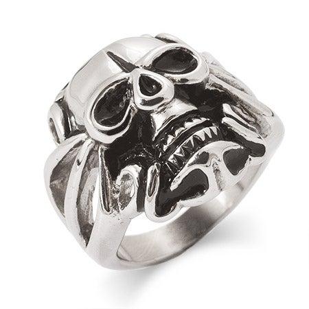 Men's Skull Ring in Stainless Steel   Eve's Addiction®