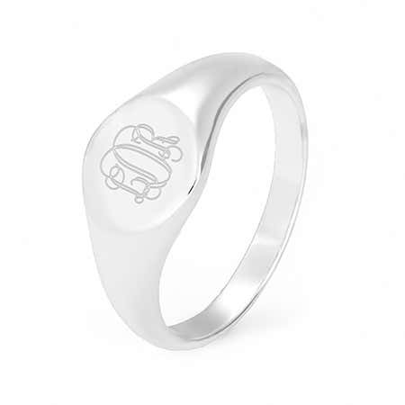 Petite sterling silver signet ring for women with what is a signet ring history