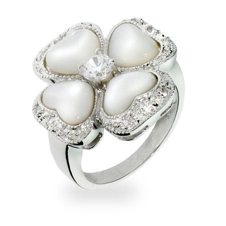 flower pearl cocktail ring at eves addiction and how to wear a cocktail ring