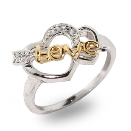 Cupids Sterling Silver Love Ring | Eve's Addiction®