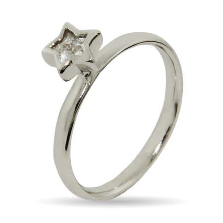 Twinkling CZ Star Stackable Ring | Eve's Addiction®