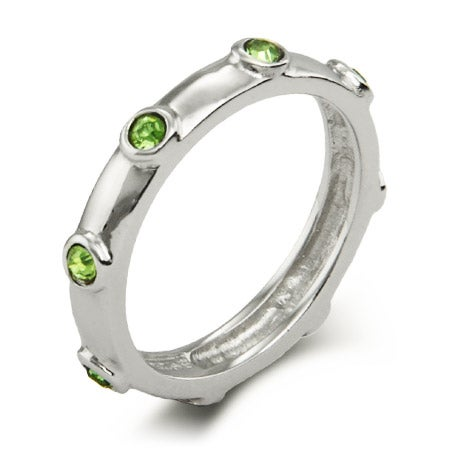 Peridot August Birthstone Ring | Eve's Addiction