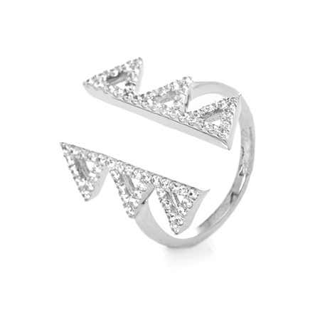 Open Triangle Parallel CZ Ring
