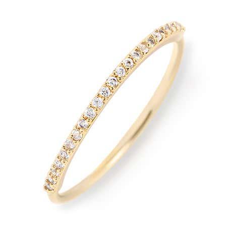 gorjana Shimmer Bar Ring in Gold