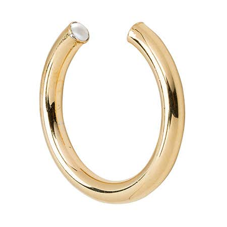 Stella Valle Gold June Simulated Pearl Birthstone Ring