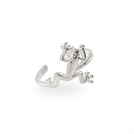Jumping Sterling Silver Frog Toe Ring | Eve's Addiction®