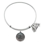 Wind and Fire Best Friend Charm Bangle Bracelet