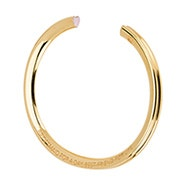 Stella Valle Bridesmaid Gold Cuff Bracelet