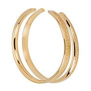 Stella Valle Best Friend Gold Cuff Bracelet Set
