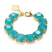 Fornash Charlotte Bracelet with Aqua Stones