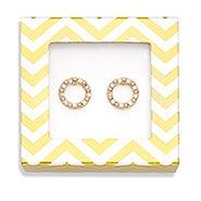 Foxy Clarissa Earrings in Gold