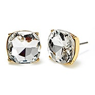 Fornash Blake Earrings with Clear Stones