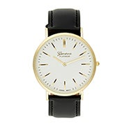Men's Classic Gold and Black Watch