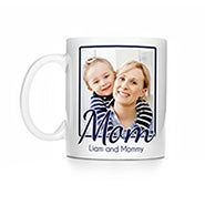 Personalized Mom Photo Mug