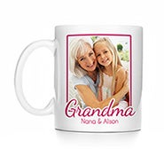 Personalized Grandma Photo Mug