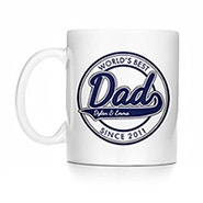Personalized World's Best Dad Mug