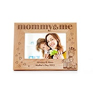 Engravable Mommy and Me Wood Frame