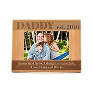 Engravable Daddy Wooden Frame