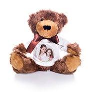 Teddy Bear with Custom Photo T-Shirt