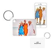 Rectangle Custom Photo Keychain