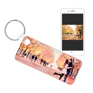 Long Rectangle Custom Photo Keychain