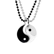 Engravable Yin Yang Friendship Pendant
