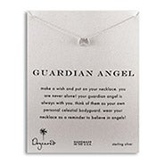 Dogeared Guardian Angel Wings Sterling Silver Necklace