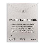 Dogeared Guardian Angel Wings Sterling Silver Necklace