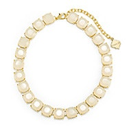 Fornash Charlotte Necklace with White Stones