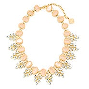 Fornash Serena Necklace with Light Pink Stones