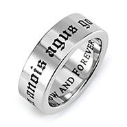 Love Now and Forever Poesy Ring