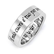 My Heart Is Yours Forever Poesy Ring