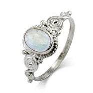 Vintage Heirloom Moonstone Ring
